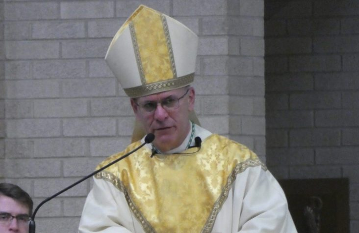 Weekly schedule for Bishop Kevin C. Rhoades