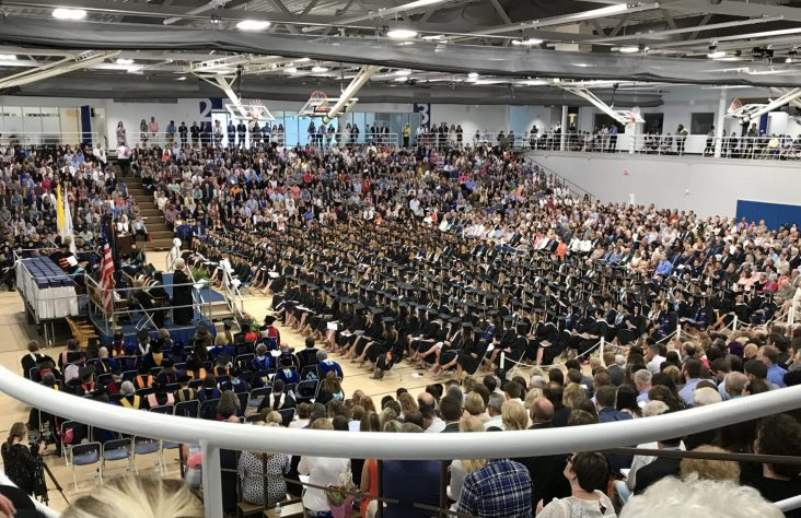 Saint Mary's College celebrates graduates and grace