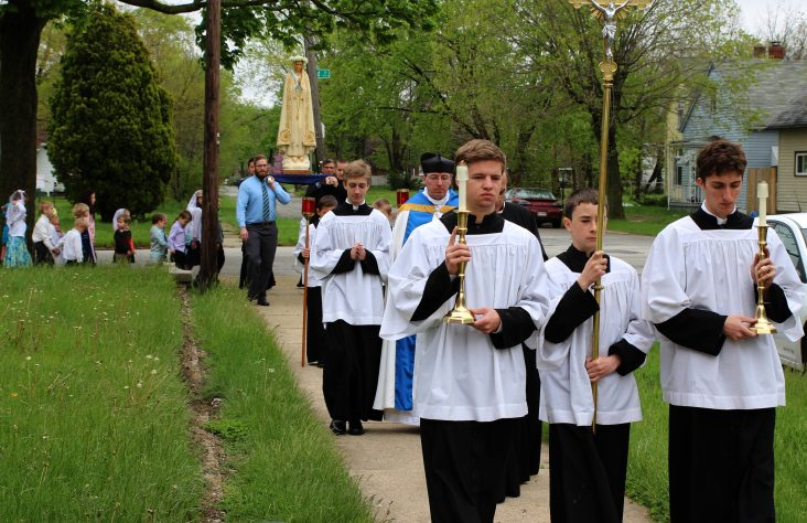 Latin Mass appeals to young and old