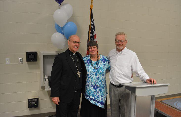 Saint Joseph High School principal Susan Richter relinquishes administrative duties