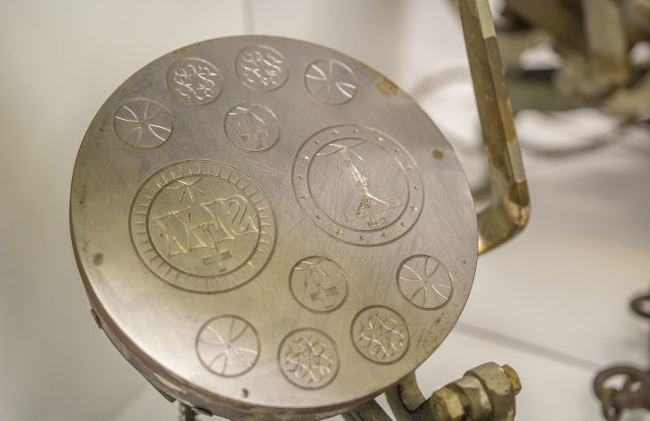 Communion bread makers on display at museum