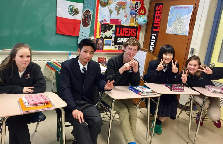 Bishop Luers students head to sister school in Japan