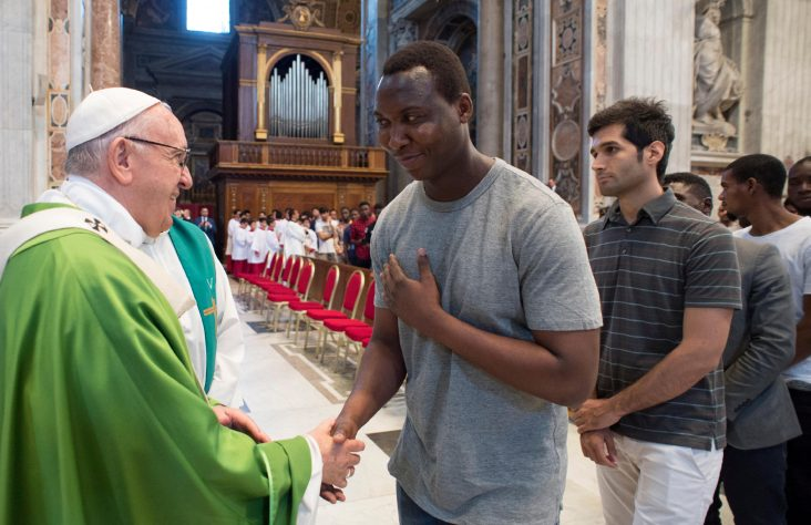 'Sterile hypocrisy' behind mistreatment of migrants, pope says