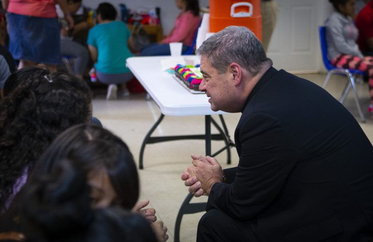 Bishops sought to share journey with migrants, not join political fray