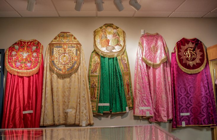 Festival of Copes exhibit opens at Cathedral Museum