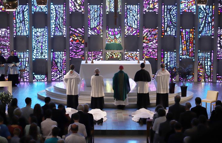 Four ordained to the diaconate in Congregation of Holy Cross