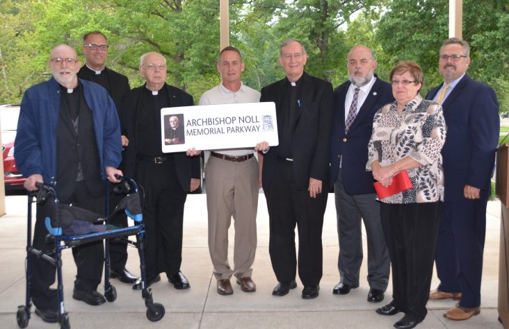 Highway renamed for Archbishop Noll
