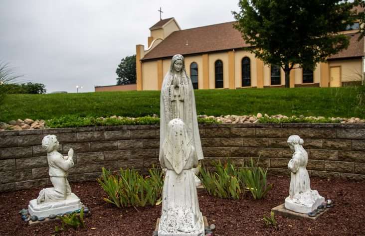 New Blessed Sacrament Church dedicated in Albion