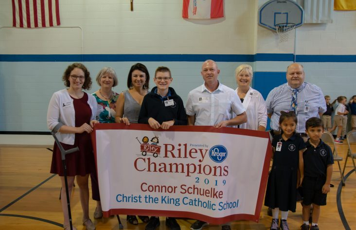 Christ the King student is Riley Champion