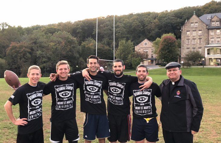 Seminarian champs at the Mount