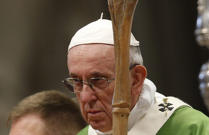Pope apologizes to young people who have felt ignored by the Church