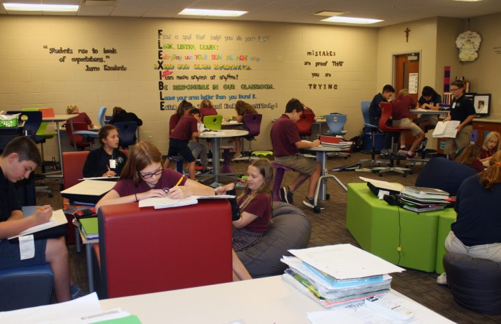 Teacher approaches school year with 'flipped' classroom
