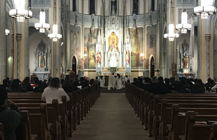 St. Casimir inaugurates Nocturnal Adoration Society