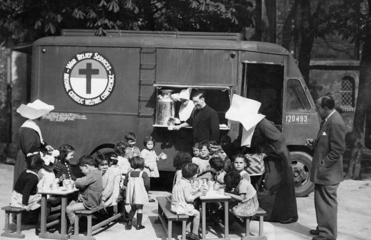 Catholic aid agency looks back on 75 years of service