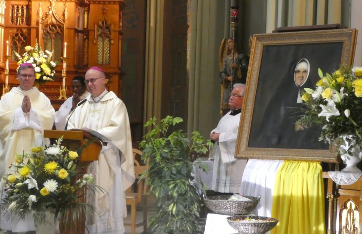 Mass of thanksgiving celebrated for canonization of St. Katharina Kasper