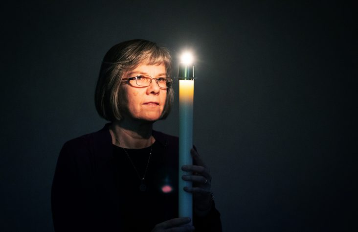 Women religious launch Advent with the light appearing in darkness