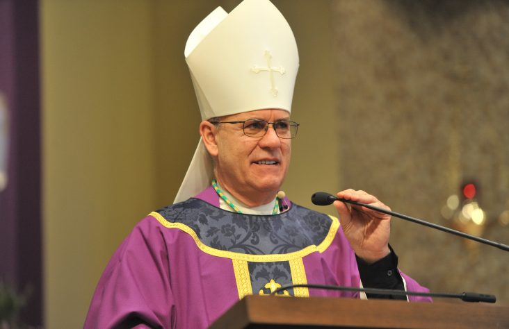 Weekly schedule of Bishop Kevin C. Rhoades
