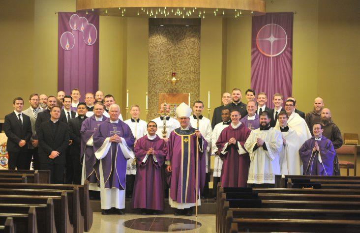 Seminarian Mass and luncheon