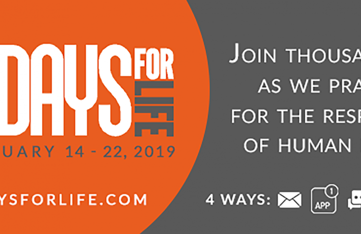 U.S. Catholics prepare for 9 Days for Life campaign