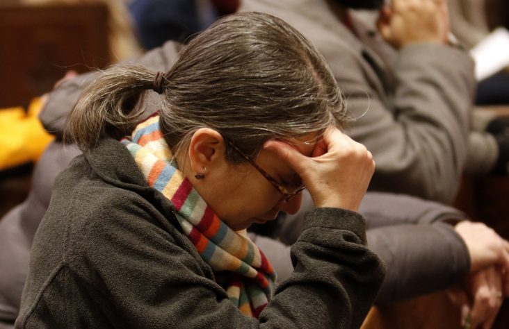 Massgoers pray for conversion of hearts  as New York expands abortion