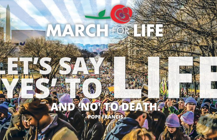 Defend the life of the unborn — march for life