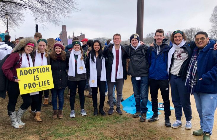 Moments of witness, outreach at March for Life