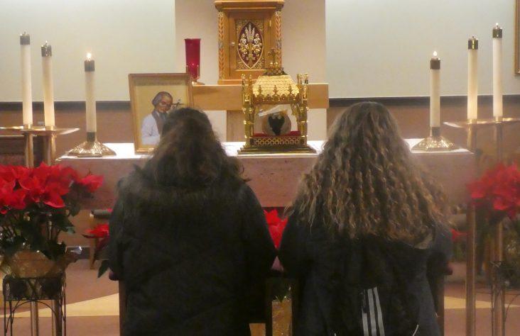 Heart of St. John Vianney visits Notre Dame