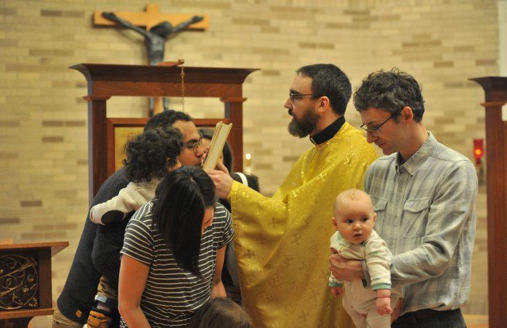 Bishop Rhoades celebrates Divine Liturgy with Byzantine Catholic community