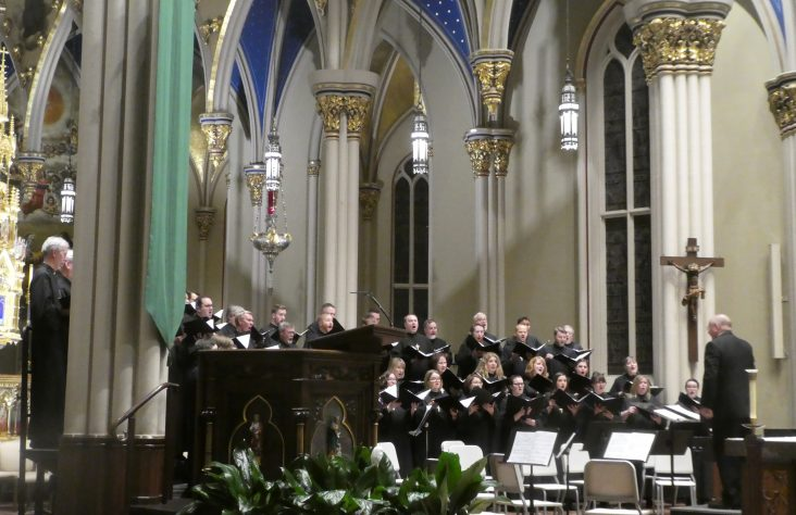 Bishop welcomes Catholic-Lutheran dialogue during musical performance at Notre Dame