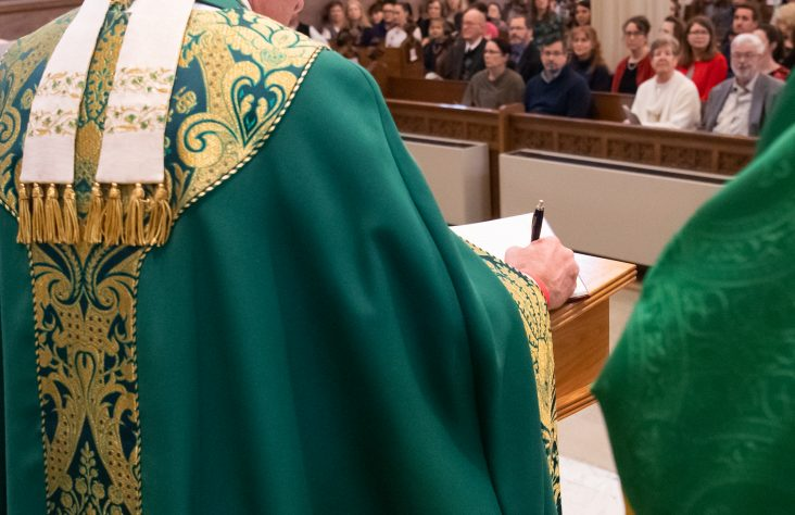 Bishop to catechumens, candidates: 'Prepare for something amazing'