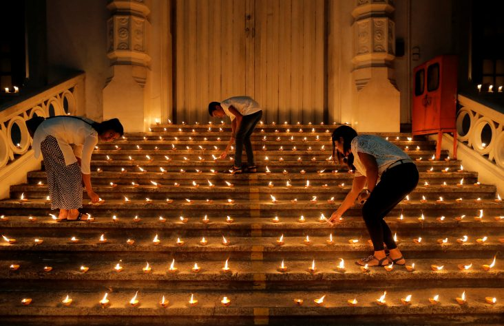 Prayers joined after Easter attacks in Sri Lanka