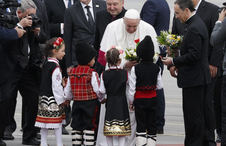 Pope to Bulgarians: Treasure identity as crossroads of cultures