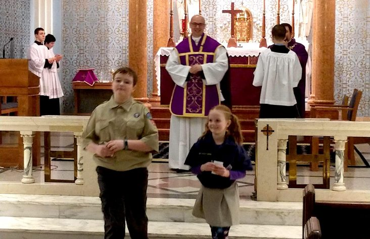 Modlins keep Catholic Scouting in the family