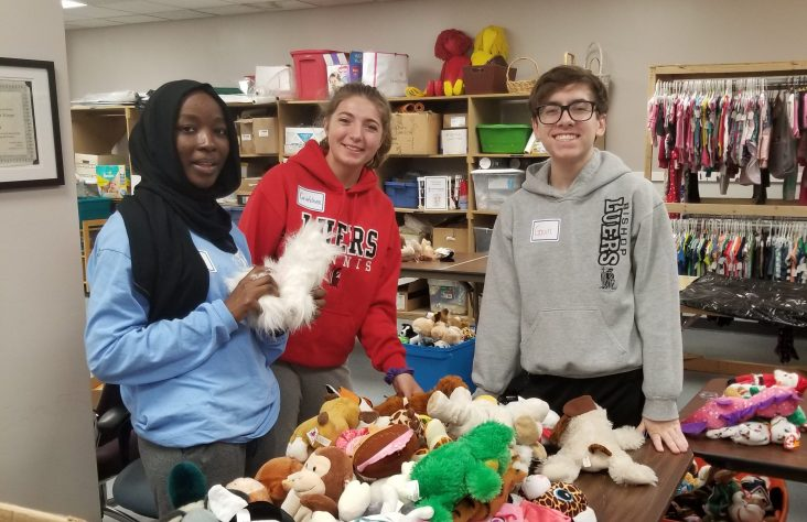 Sodalitas group helps community and Bishop Luers school