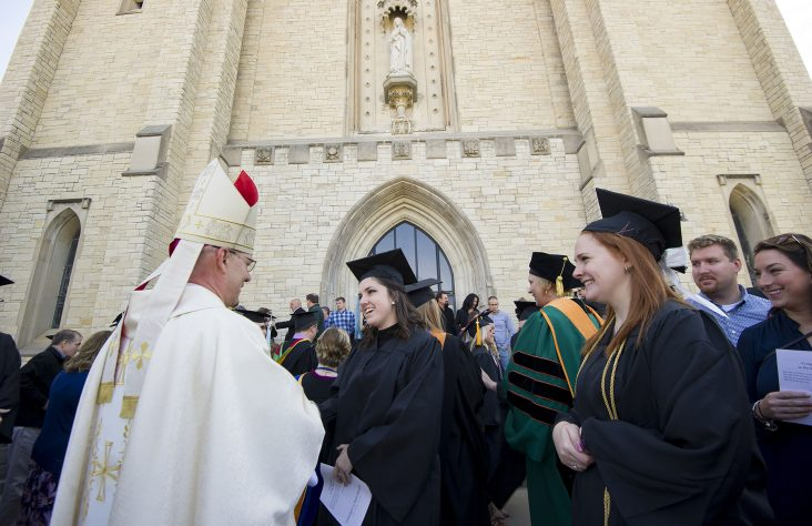 Top grads mark beginnings and endings