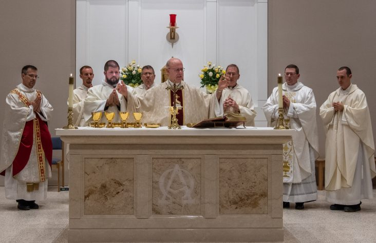 Our Lady of Good Hope altar dedicated, renovations blessed on 50th anniversary