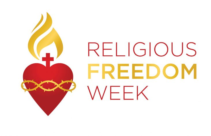 Religious Freedom Week: Pray and act