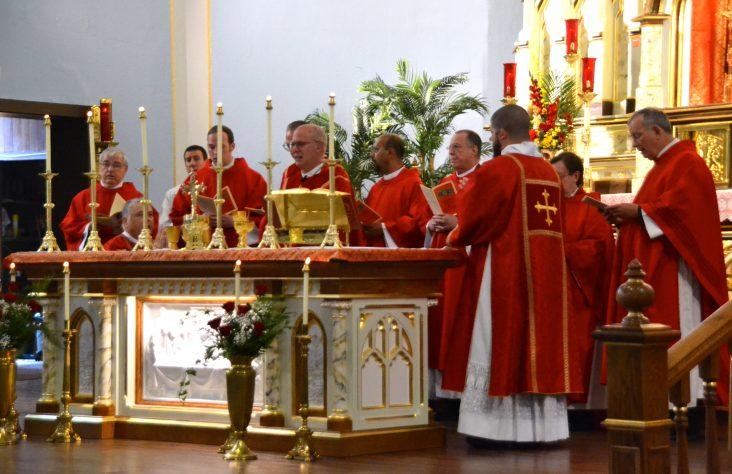 Huntington parish mindful of past, moves into future