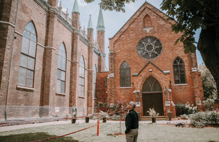 Detroit Catholics help save iconic Ontario church