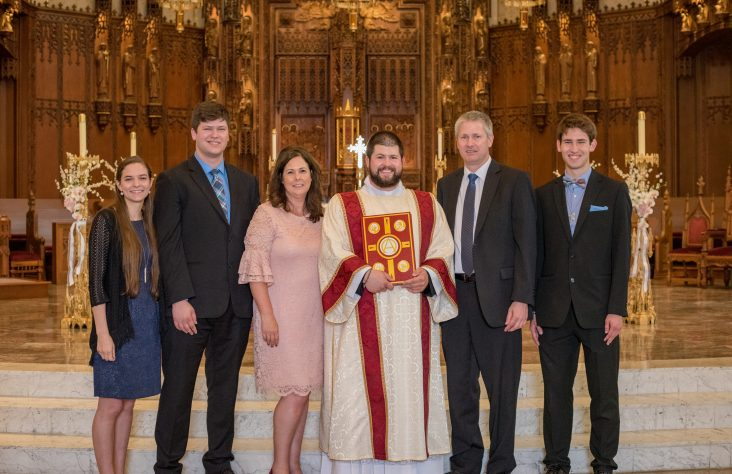 Distinct vocations discerned by local families