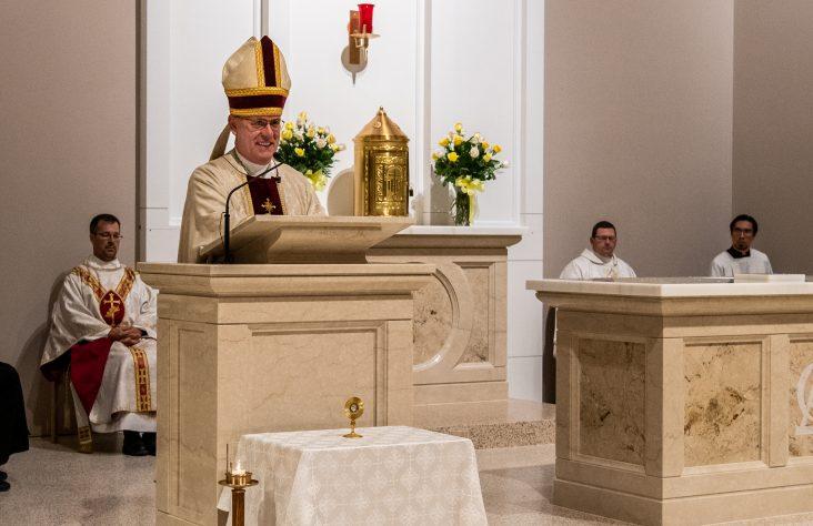 Weekly schedule of Bishop Kevin C. Rhoades