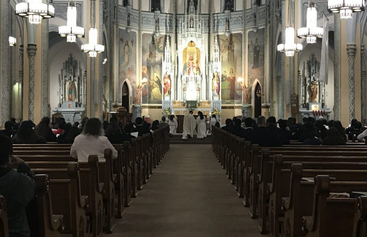 Deacon Kuspa bids final farewell to family, South Bend parishes