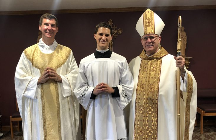 Seminarian admitted as candidate