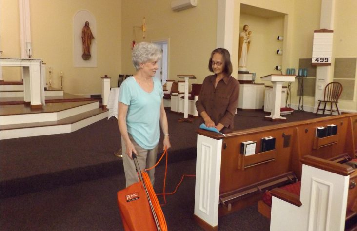 Cleaning for Christ and congregation