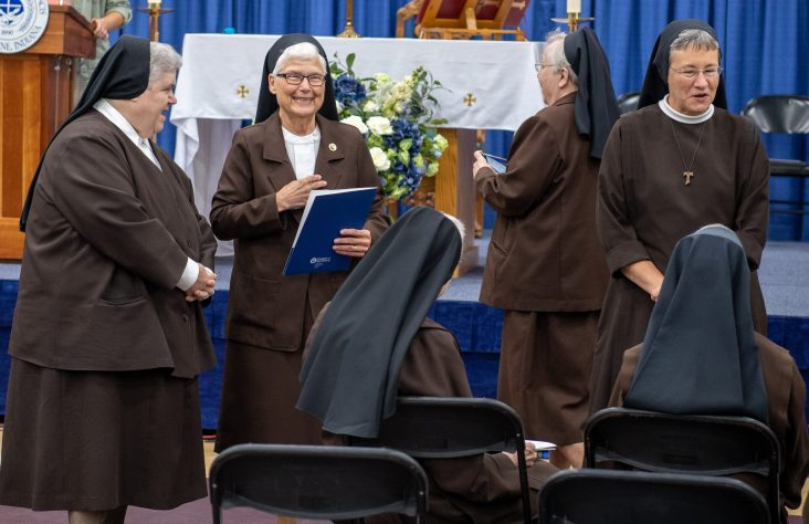 At University of Saint Francis Founders' Day, students encouraged to seek truth