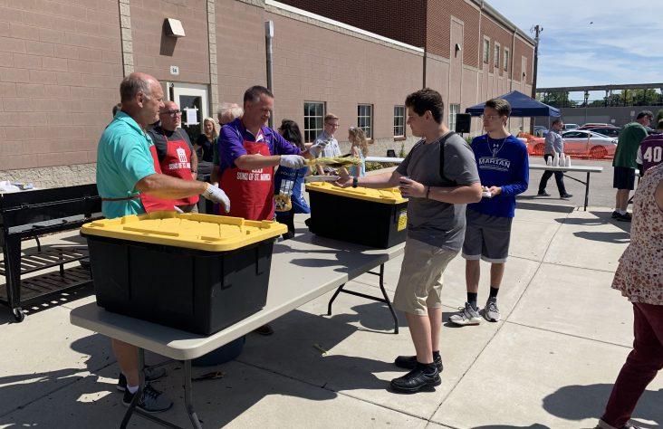 Sons build a legacy for St. Monica Parish