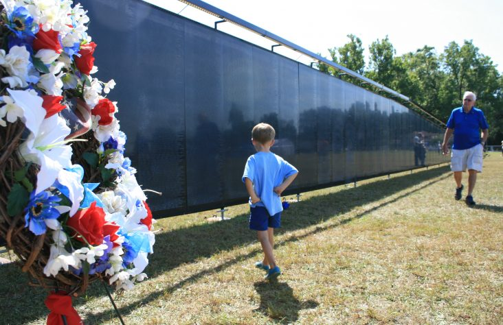 Vietnam memorial visits South Bend; Bishop celebrates Mass for healing, peace