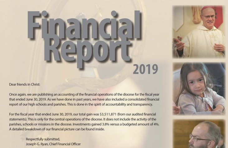 Diocesan Financial Report: 2019