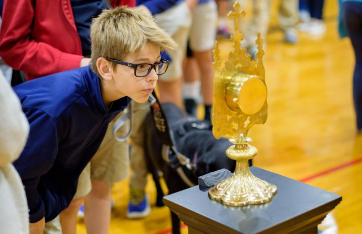 First-class Fatima relics visit high schools