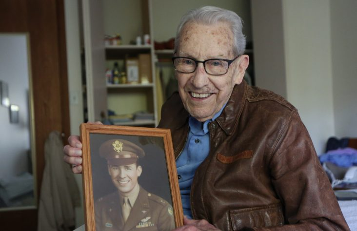 Veteran says 'Little Flower' kept him alive during months of bombing runs